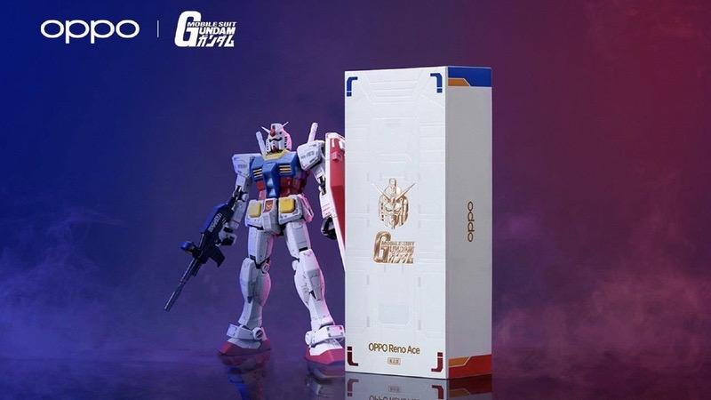 OPPO Reno Ace Gundam Edition trình làng, kỷ niệm 40 năm Gundam - ảnh 2
