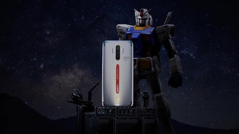 OPPO Reno Ace Gundam Edition trình làng, kỷ niệm 40 năm Gundam - ảnh 1
