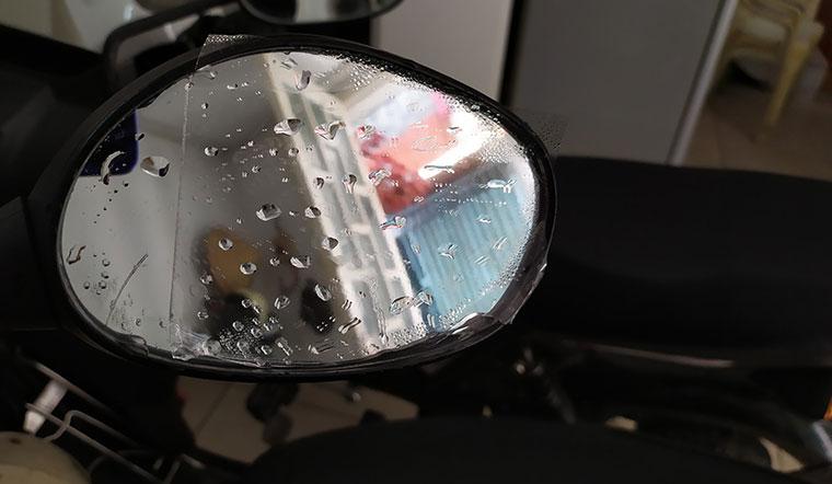 Với mẹo này bạn có thể chống mờ gương chiếu hậu hoàn toàn cho xe máy, ô tô