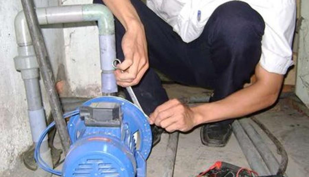Lắp đặt máy bơm nước