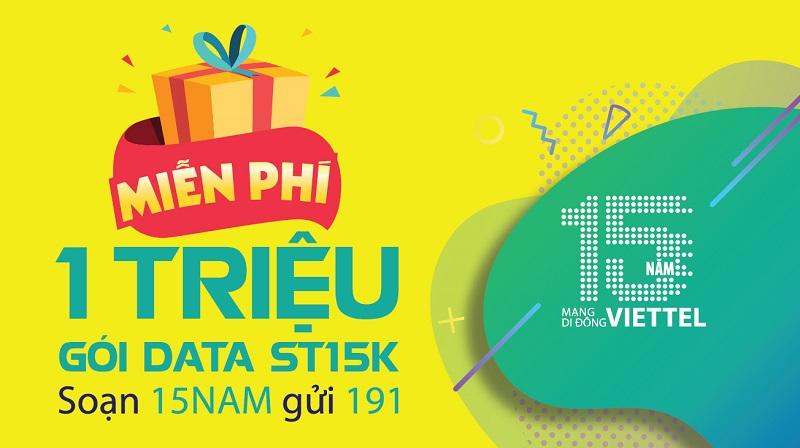 Sinh nhật Viettel, cả nước nhận quà, Data thả ga, nhận nhanh kẻo hết anh em ơi!