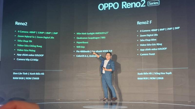 OPPO Reno2 và Reno2 F ra mắt tại Việt Nam: 4 camera, hiệu năng tốt - ảnh 6