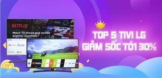 Top 5 tivi LG giảm sốc 20/10 lên đến 30% tại Điện máy XANH