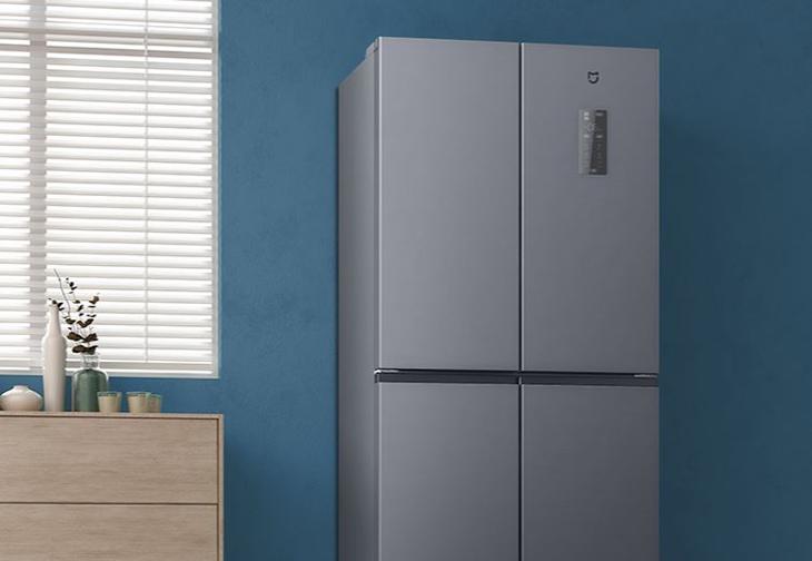 Bảng điều khiển nhiệt độ ở mặt trước tủ