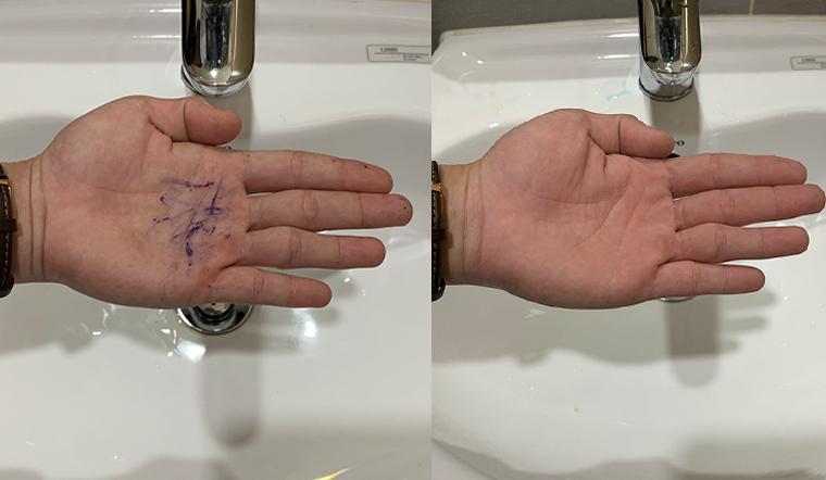 Mực dính trên tay chỉ là chuyện nhỏ, chỉ cần 2 thứ này là sạch ngay