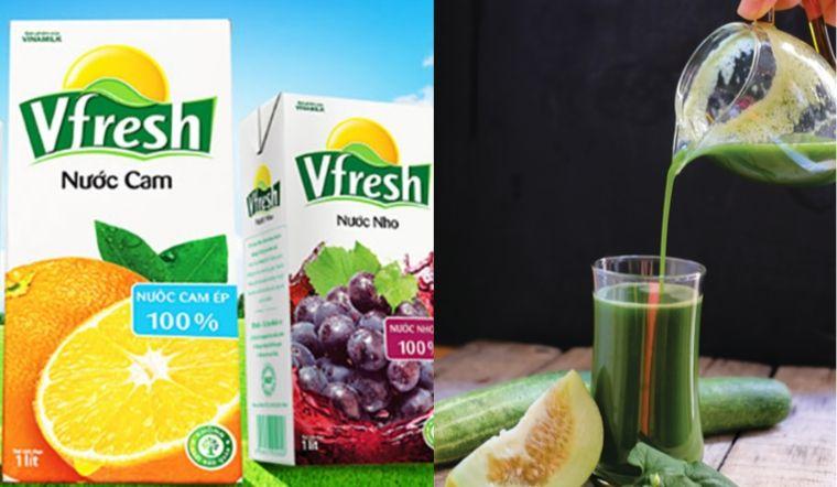 Nước ép trái cây đóng hộp có thể thay thế nước ép trái cây truyền thống