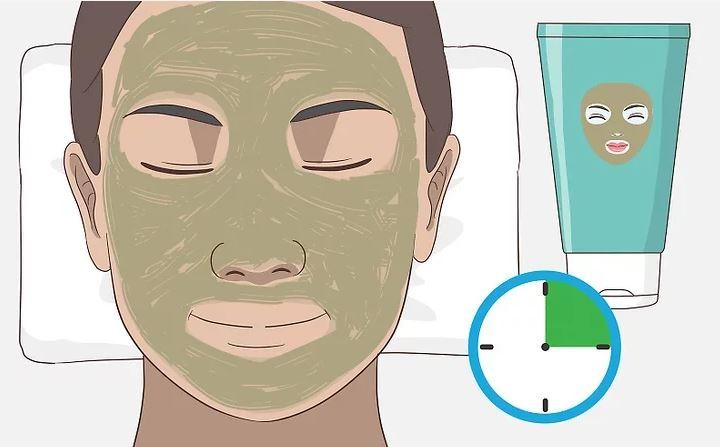 Dùng mặt nạ để lấy hết các tạp chất từ lỗ chân lông đã mở