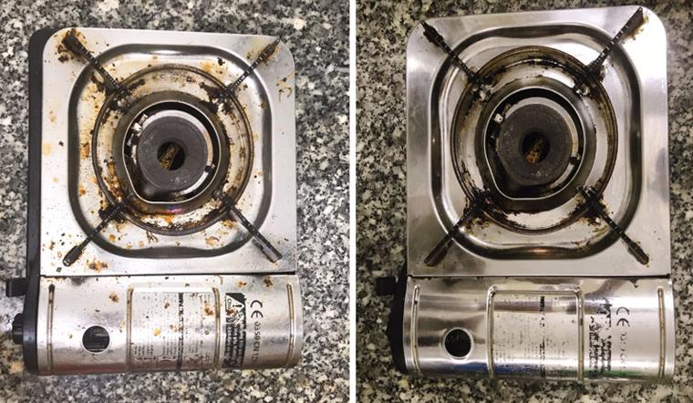 Vệ sinh bếp gas sáng bóng, sạch sẽ với 3 nguyên liệu ngay tại bếp