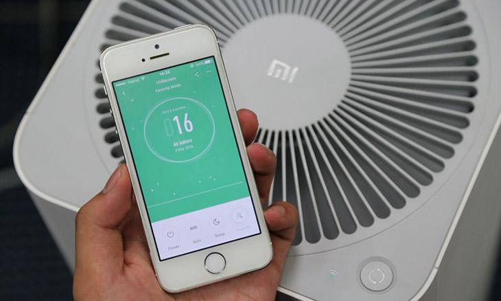 kết nối máy lọc không khí Xiaomi với điện thoại