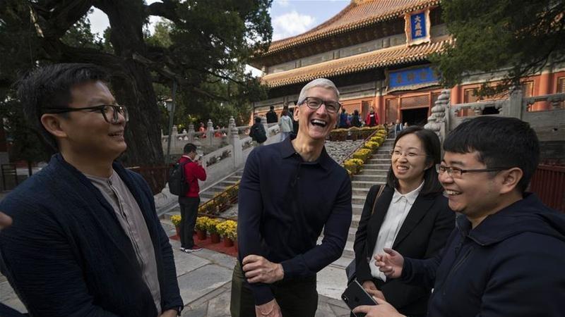 CEO Tim Cook của Apple đã được bổ nhiệm vào vị trí Chủ tịch hội đồng cố vấn của trường kinh tế thuộc Đại học Thanh Hoa ở Bắc Kinh, Trung Quốc