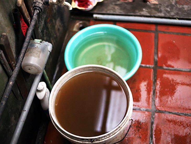 ô nhiễm nguồn nước sinh hoạt