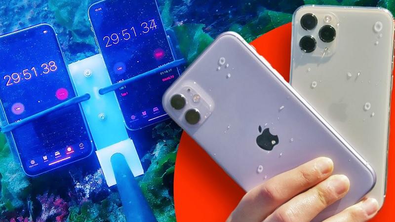 iPhone 11 series có khả năng chống nước tốt hơn những gì Apple công bố