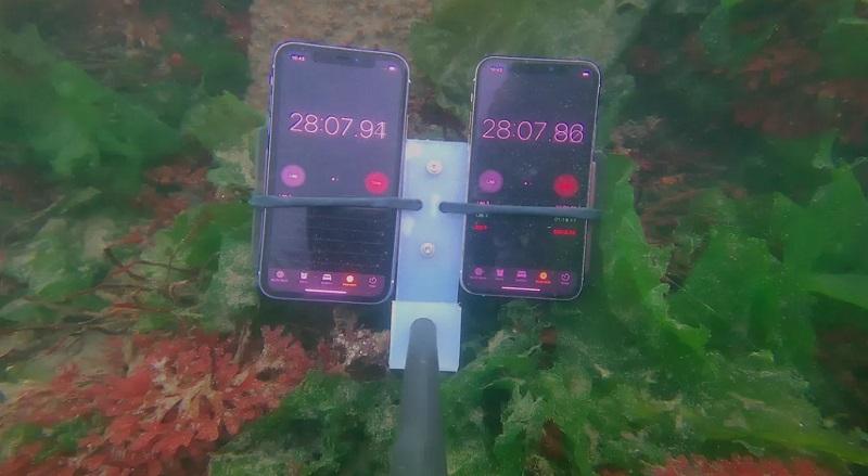 iPhone 11 và iPhone 11 Pro vẫn sống sót ở độ sâu 12 mét trong 30 phút