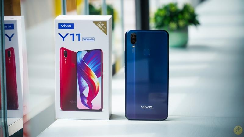 Chiếc Vivo Y11 với màu sắc độc đáo