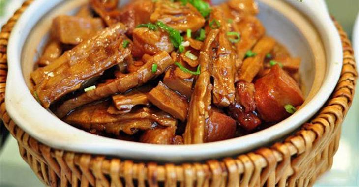 Bước 4 Thành phẩm Thịt kho măng khô
