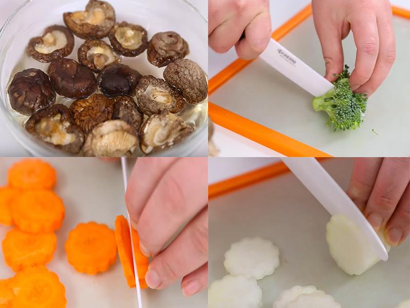 Cách nấu canh mọc nấm hương thơm ngon đầy năng lượng cho ngày đầu tuần