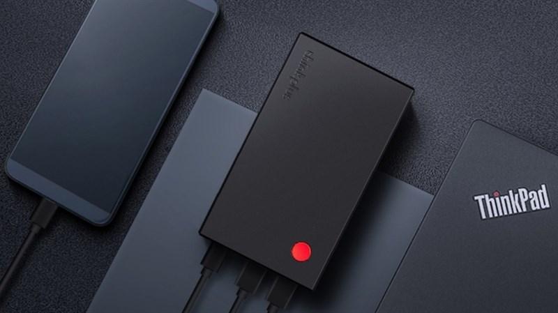 Lenovo ra mắt cục sạc dự phòng 50W Thinkplus 14.000 mAh cho cả smartphone và laptop