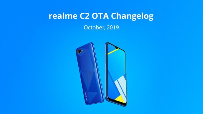Realme C2 bắt đầu nhận bản cập nhật bảo mật tháng 10, bổ sung chế độ Dark Mode và nhiều tính năng thú vị khác