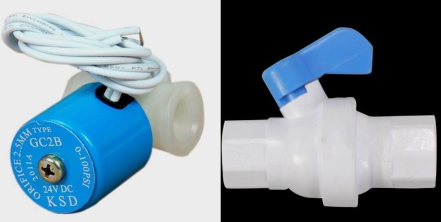 Máy lọc nước thông minh có van tự động dừng khi nước cấp đầu vào yếu