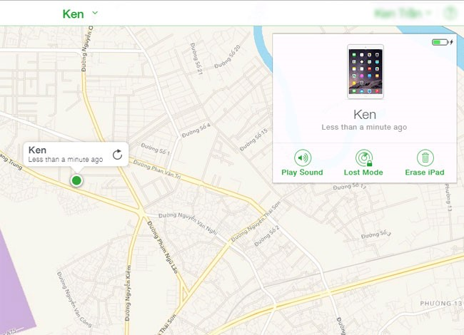 tìm iphone