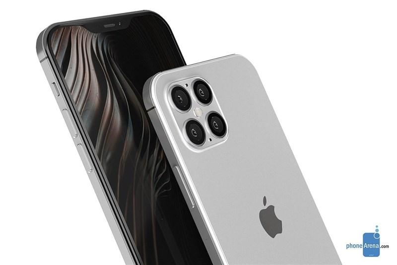Chiêm ngưỡng mẫu thiết kế iPhone 12 cực ấn tượng: 4 camera sau, notch nhỏ gọn, viền cạnh phẳng như iPhone 4