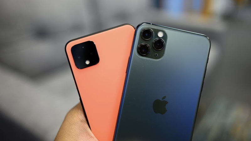 iPhone 11 Pro Max & Pixel 4 XL
