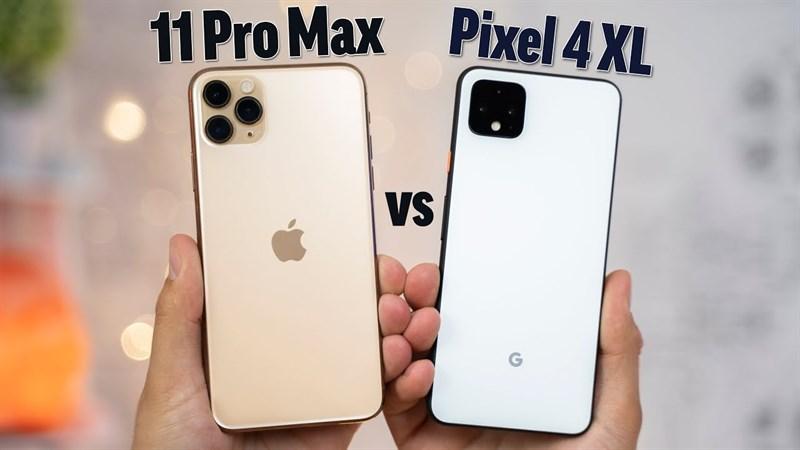 """iPhone 11 Pro Max cho Pixel 4 XL """"hít khói"""" trong bài kiểm tra tốc độ ứng dụng"""