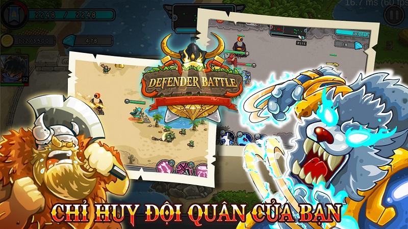 Hình ảnh trong game Defender Battle: Heroes War