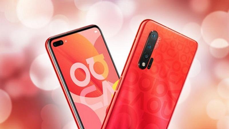 Huawei Nova 6 5G phiên bản màu đỏ đẹp thế này có khiến bạn bị kích thích?