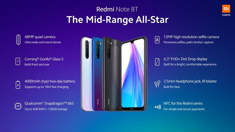 Remi Note 8T