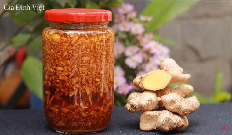 Cách làm gừng ngâm mật ong bổ dưỡng cho sức khỏe