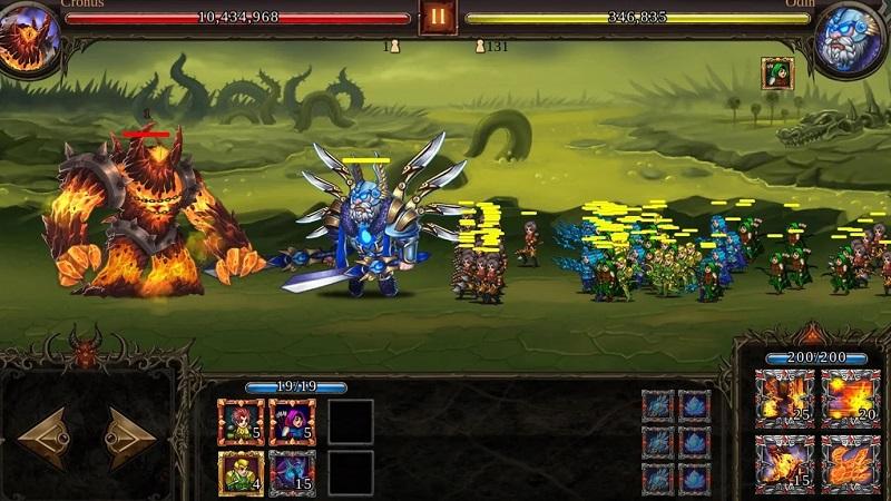 Hình ảnh trong game Thần tướng - Epic Heroes