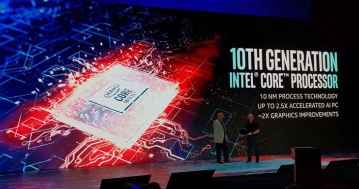 Intel Gen 10 tích hợp trí tuệ nhân tạo