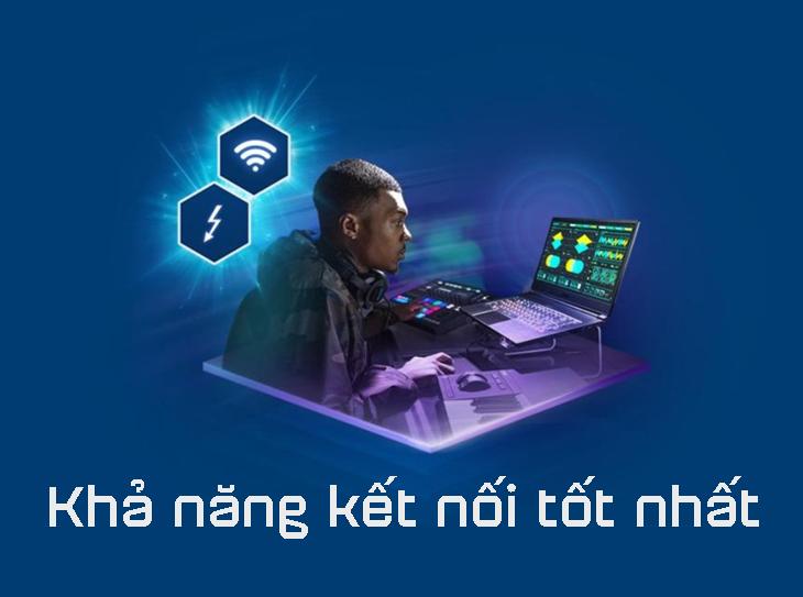 Khả năng kết nối của Intel Core Gen 10