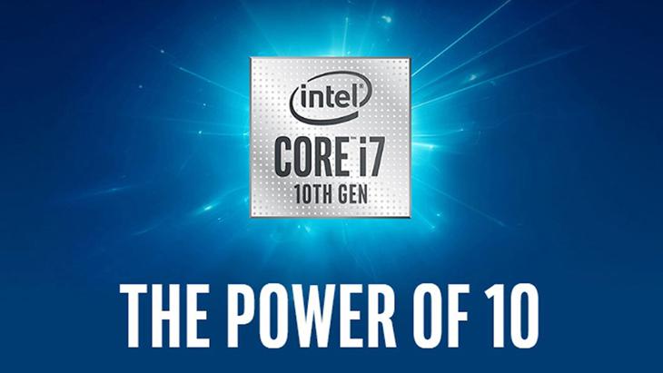 Chip Intel thế hệ 10 ra mắt