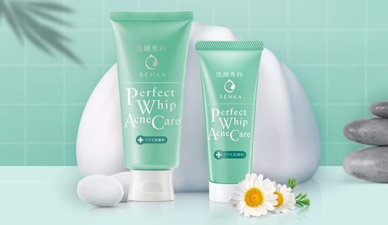 Senka Perfect Whip Acne Care, sữa rửa mặt mới của Senka có tốt không?