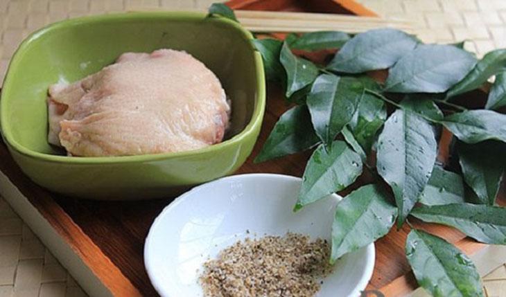 Nguyên liệu món ăn 3 món vịt nướng lá sen, lá mắc mật, lá chuối
