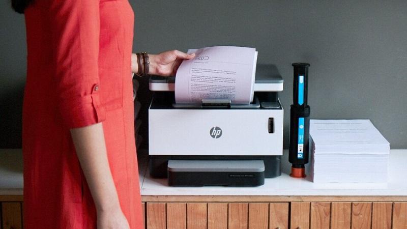 In thử 100 trang miễn phí trên máy in HP Neverstop