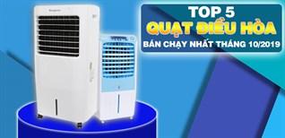 Top 5 quạt điều hòa bán chạy nhất Điện máy XANH tháng 10/2019