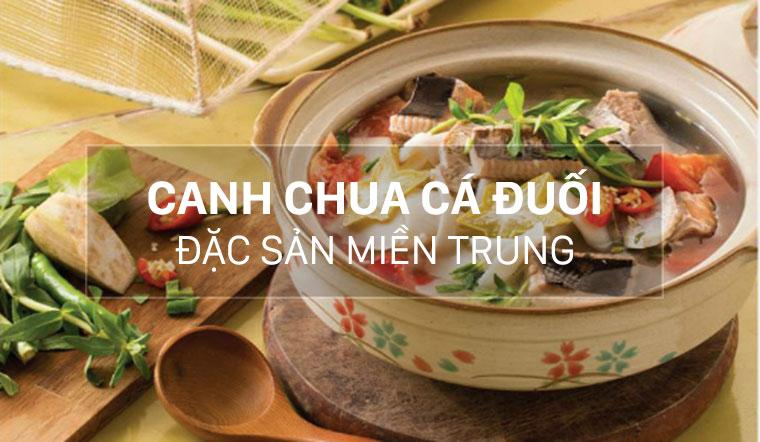 Cách nấu canh chua cá đuối chuẩn vị đặc sản miền Trung