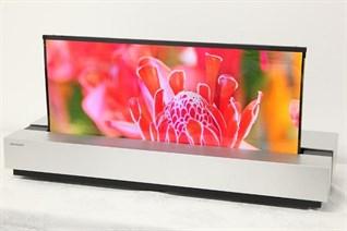 Sharp sắp ra mắt tivi màn hình cuộn, cạnh tranh với LG