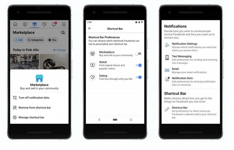 Facebook cập nhật tính năng cho phép người dùng tắt các chấm thông báo