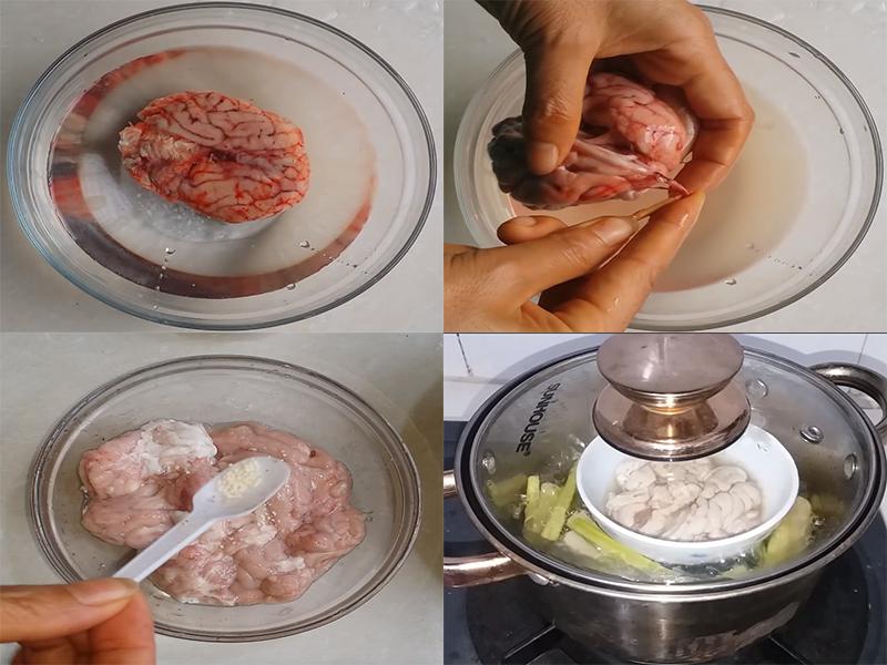 Cách nấu cháo óc heo bổ dưỡng cho ngày mới