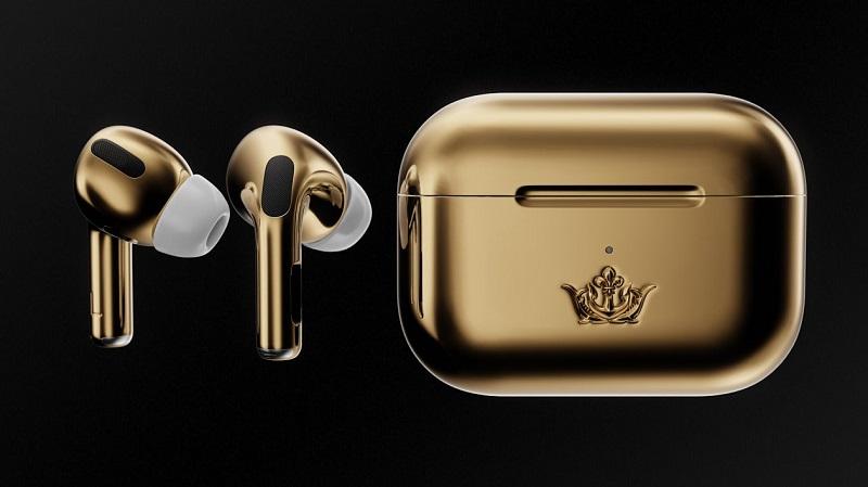Cùng ngắm nhìn Apple AirPod Pro phiên bản vàng 'chanh sả', giá bằng một chiếc ô tô hạng trung