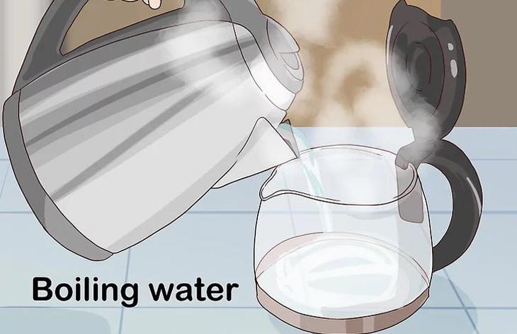 Đun sôi một lượng nước