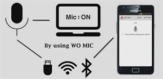 Hướng dẫn sử dụng smartphone làm micro cho laptop