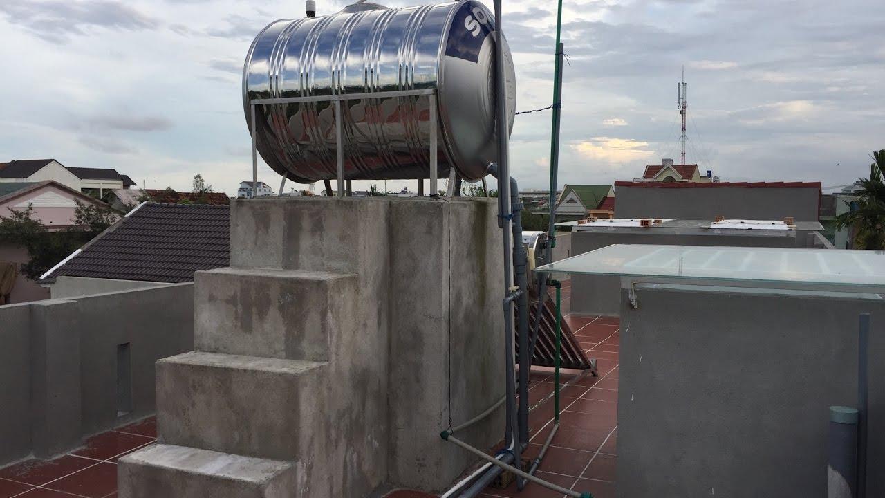 Cách lắp đặt máy bơm nước hỗ trợ máy giặt cho nhà có nguồn nước yếu