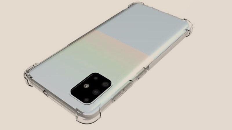 Thông qua ốp lưng hé lộ thiết kế của Galaxy A51