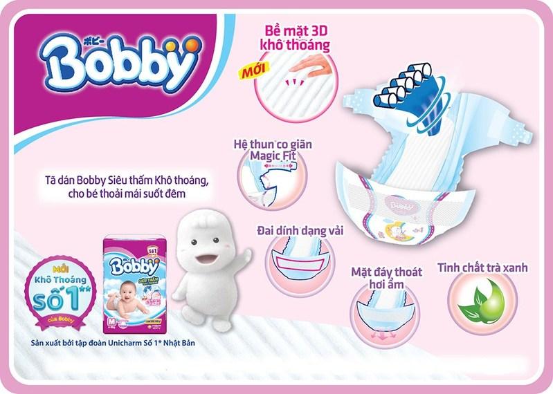 Tã dán bobby có gì đặc biệt mà khiến các mẹ bỉm chọn mua nhiều như vậy