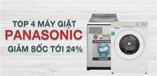 Sắm máy giặt Panasonic từ ngày 18 - 21/11, giảm sốc tới 24%